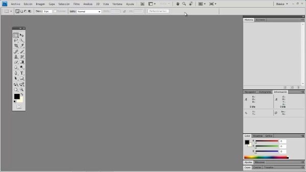 Photoshop CS4. Entorno de trabajo1