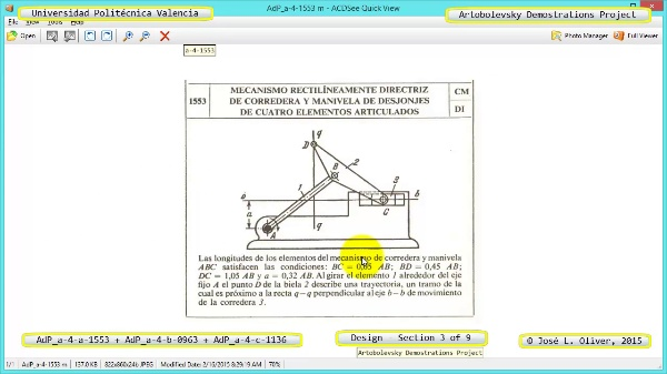 Creación Virtual Mecanismos a-4-1553-0963-1136 con Solidworks - 3 de 9