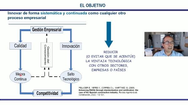 La gestión de la innovación en empresas constructoras