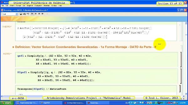 Solución Cinemática Simbólica a_c_0658 con Mathematica -B- 13 de 13