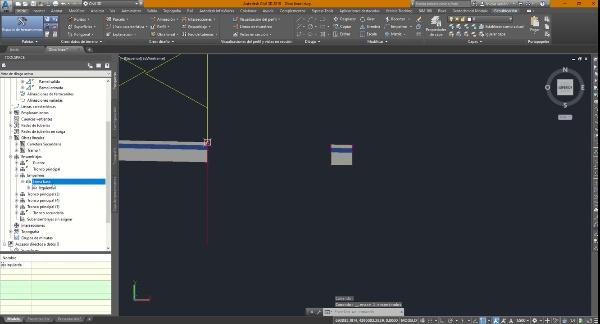 Obra lineal de intersección 1 - Ensamblajes de los empalmes