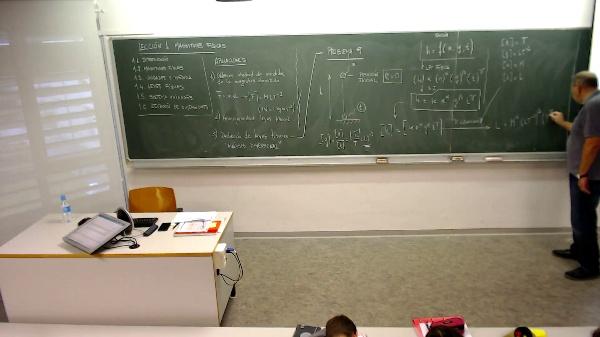 Física 1. Lección 1. Problema 9