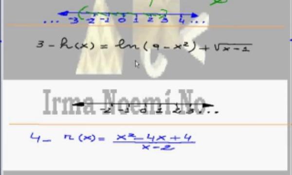 Dominio de funciones de variable real - Parte 2