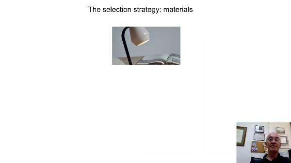 Ceramic materials selection