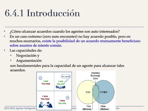 Ain (Agentes Inteligentes) - Tema 6 - Negociación - Sección 4 - Negociación bilateral