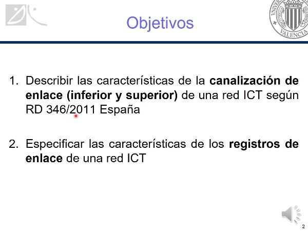 Canalización enlace y registros de enlace