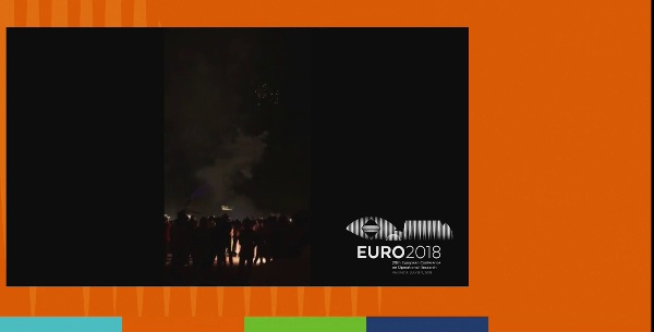 EURO 2018. Closing Session. PRESENTER view