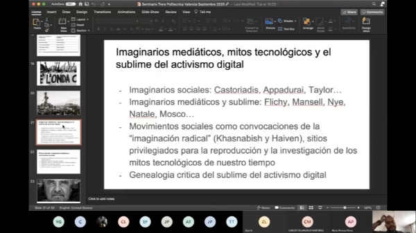 Conferencia #3  Emiliano Treré - parte 1