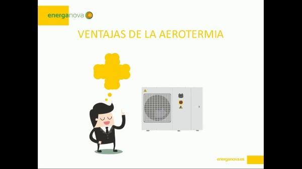 Aerotermia - Ventajas