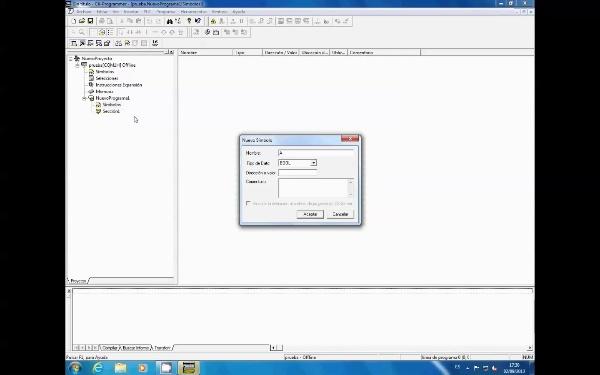 Primeros pasos con CX-Programmer