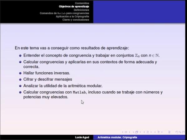 Aritmética modular parte 1: definición de congruencia y operaciones. Conjuntos Zn