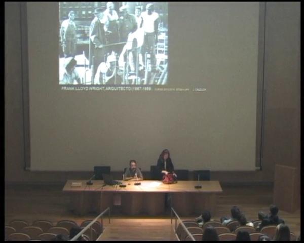 Frank Lloyd Wright, por Joan Calduch