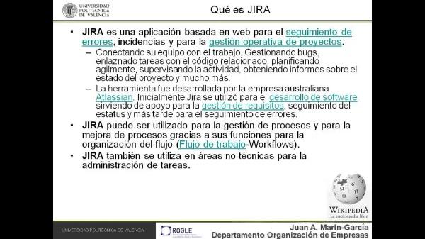 Uso de JIRA para gestión de tareas relacionadas con tesis doctorales