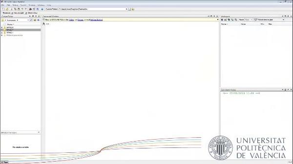 Introducción al entorno Matlab