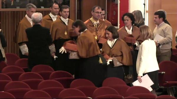 Acto de investidura como Doctora honoris causa de la Dra. Adela Cortina y de investidura de nuevos Doctores y Doctoras