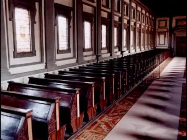 Miguel Angel: Biblioteca Laurenciana, Florencia