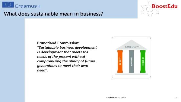 Sustainable revenue models II