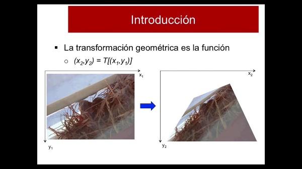 Introducción Transformaciones Geométricas