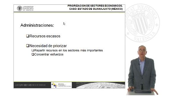 Priorización de sectores económicos