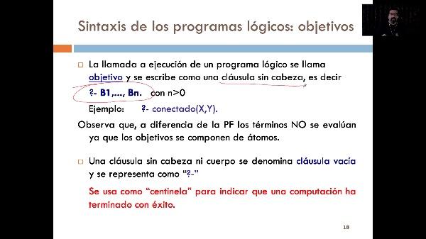 LTP - Tema 4 - Sintaxis. Programas lógicos