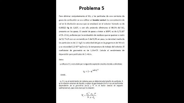 T2. Control de partículas_problemas 5 y 6