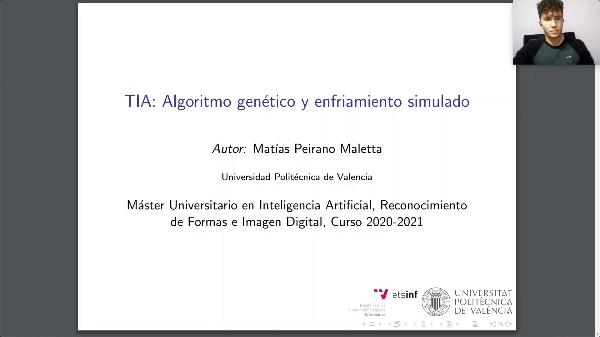 TIA - Algoritmo Genético y Enfriamiento Simulado