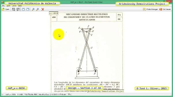 Creación Virtual Mecanismo a-c-0654 con Solidworks - 03 de 10