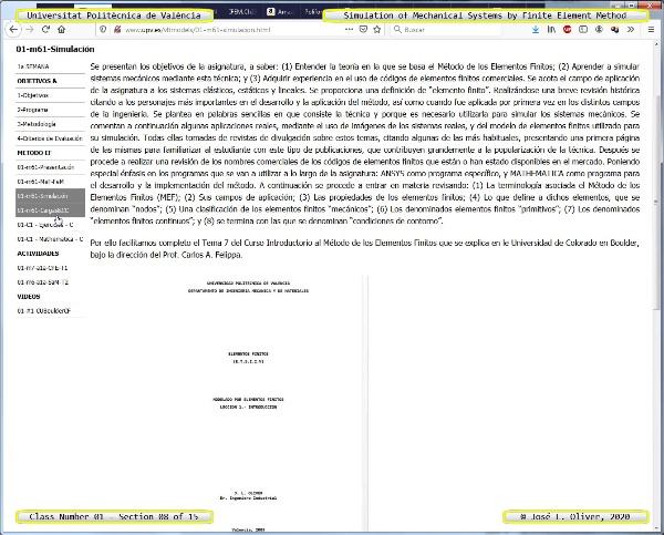 Métodos Numéricos para Análisis Estructural ¿ MN ¿ 2020 ¿ Clase 01 ¿ Tramo 08 de 15