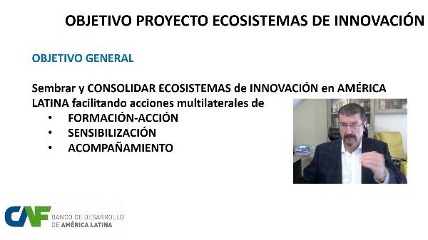 VIDEO proyecto ECOSISTEMAS CAF-OEI (ver domos)