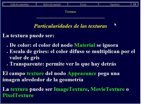 Introducción al uso de texturas en VRML