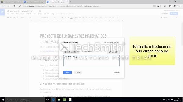 Cómo hacer una copia la plantilla de proyecto en Google Docs