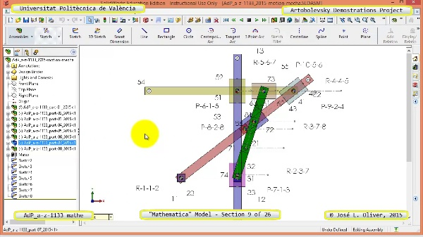 Solución Cinemática Simbólica a-z-1133 con Mathematica - 09 de 26