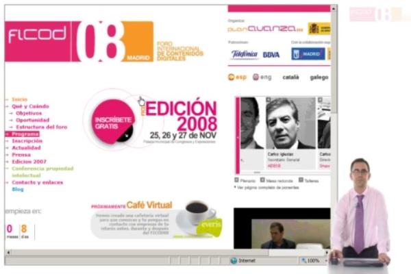 Prueba FICOD 2008 formato ipod