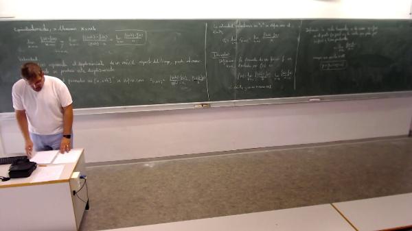 Matemáticas I-11-6-Definición derivadas