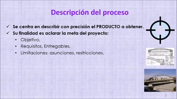 (Gestión de proyectos) Tema 4: PROCESO. Definir el alcance
