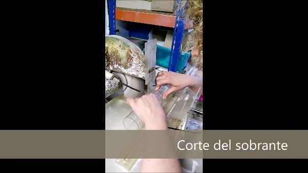 Proceso fabricación (Artesanía en vidrio J.Sorribes) - Javier Sanmiguel Alamá