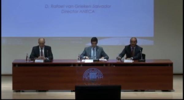 Conferencia Rafael van Grieken, Director ANECA