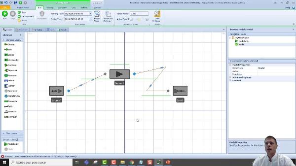SIMIO_Video02_Los objetos básicos y depurar los errores