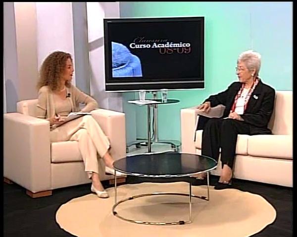 Acto académico de clausura del curso 2008-2009