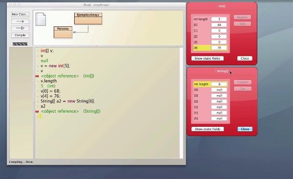 Arrays (unidimensionales) en Java