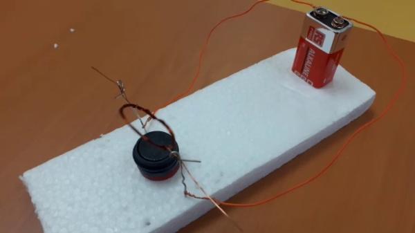 El motor eléctrico más sencillo