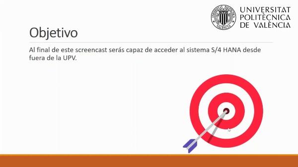 Conectar a S4/HANA de la UPV desde fuera de la UPV