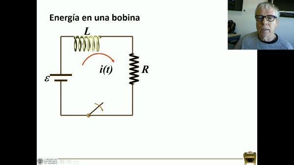 Energía del campo magnético en un solenoide