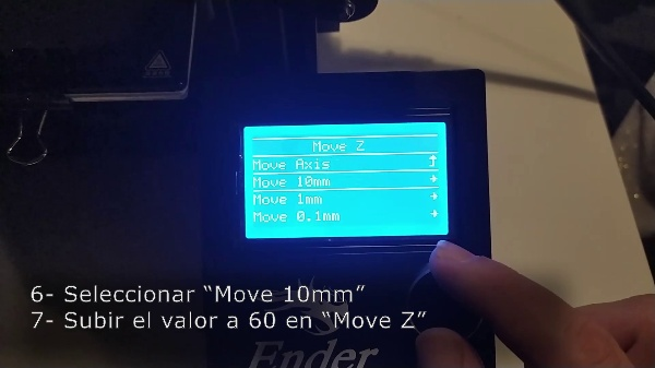 MediaLab e Impresión 3D. Impresora - cambio de filamento.