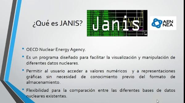 Introducción a JANIS
