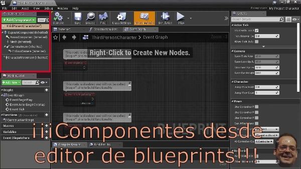 Unreal Engine - Creación de componentes