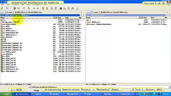 Simulación Mecanismo a_c_0658 con Mechanica - 01 de 18