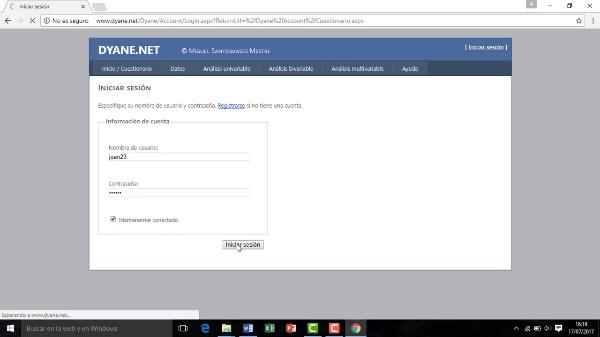 Video 2 Dyane.net: Acceso al programa y subir ficheros