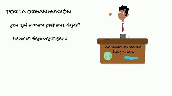 MOOC español para viajeros. Tipos de viajes