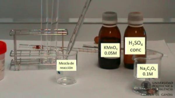 Velocidad de una reacción química: Efecto de la presencia de un catalizador